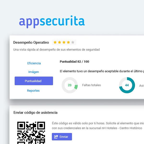 AppSecurita Control de Elementos de Seguridad