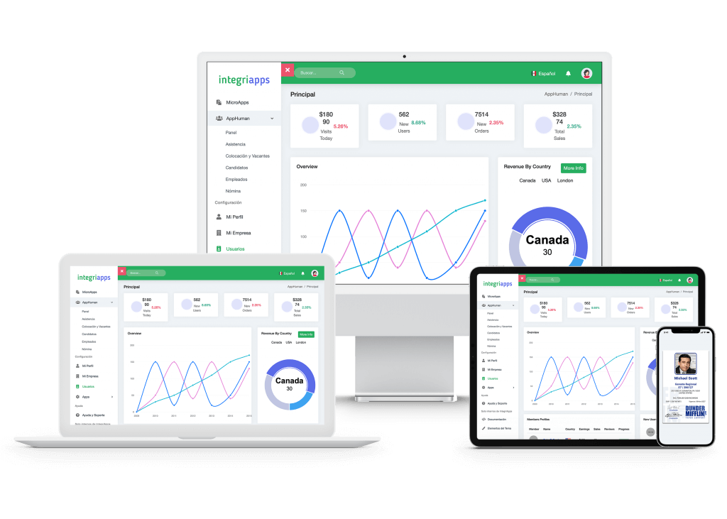 Con AppHuman la app de Recursos Humanos recluta, selecciona y contrata a tus Recursos Humanos o al Personal que necesites.